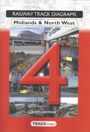Railway Track Diagrams Midlands & North West Third Edition